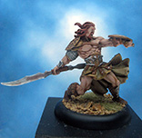 Painted Andrea Miniatures Black Crow