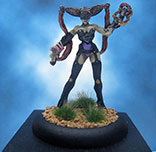 Painted Darkage Miniature Sister of Charity