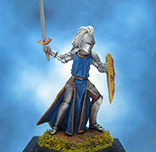 Painted Darksword Miniature Knight in Armour