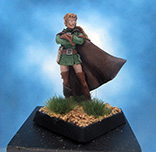 Painted Fenryll Miniature Thief