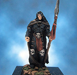 Painted Fenryll Miniature Night Warrior