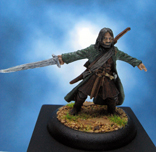 Painted Games Workshop Lord of the Rings Aragorn
