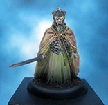 Painted Games Workshop Miniature LOTR King of the Dead