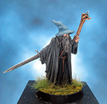 Painted Games Workshop LOTR Miniature Gandalf