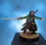 Painted Games Workshop LOTR Miniature Aragorn
