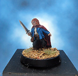 Painted Games Workshop LOTR Miniature Pipin