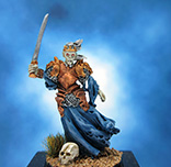 Painted Darksword Miniature Game of Thrones Wilding Spearwife