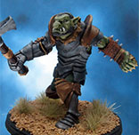 Painted Hasslefree Miniatures Axenarf