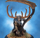 Painted I-Kore Zenit Miniature Cernunnos the Horned One