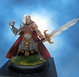 Painted I-Kore Celtos Miniature Nuada of the Silver Hand
