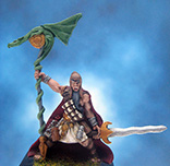 Painted I-Kore Celtos Miniature Faeron Fire Wizard