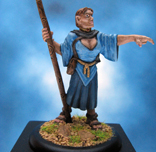 Painted Ironwind Metals Miniature Female Giant
