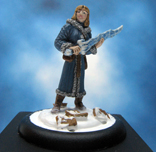 Painted ironwind Metals Miniature Winter Witch