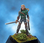Painted Magnificent Egos Miniature Sirrilo Elven Justicar
