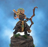 Painted Chainmail Miniature Wood Elf Scout