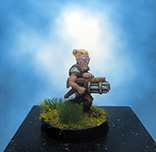 Painted Chainmail Miniature Gnome Infiltrator