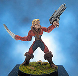 Painted Trinity Infinity Battlegrounds Miniature Juanos Palmero