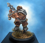 Painted Privateer Press Miniature Devil Dog Trooper