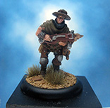Painted Privateer Press Miniature Croe's Cutthroat