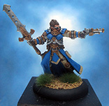 Painted Privateer Press Miniature Commander Coleman Stryker