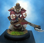 Painted Privateer Press Miniature Warmachine Flameguard Cleanser