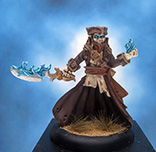 Painted Privateer Press Miniature warmachine Blackbane Ghost Rider