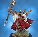 Painted Privateer Press Miniature Scrutator Severius Warcaster
