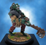 Painted Ral Partha Miniatures Crucible Orc Chieftan