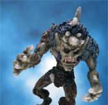 Painted Ral Partha Miniatures Crucible Swamp Terror