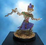 Painted Ral Partha Crucible Miniature Mummy Priest