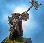 Painted Ral Partha Crucible Miniature Lord Mikala the Bear