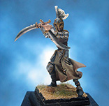 Painted Rackham Confrontation Miniature Warrior of Blood