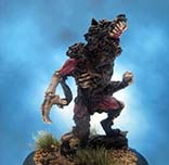 Painted Reaper Miniatures Zombie Werewolf