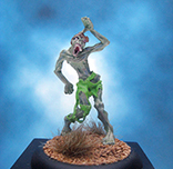 Painted Reaper Miniature Zombie