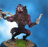Painted Reaper Miniature Zombie Werewolf