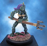 Painted Reaper Miniature Slithe Warrior