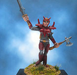 Painted Reaper Miniature Female Bloodguard