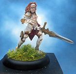 Painted Reaper Miniature Samantha of the Blade