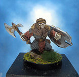 Painted Reaper Miniature Undead Dwarf