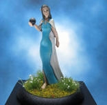 Painted Spyglass Miniature L'nissa